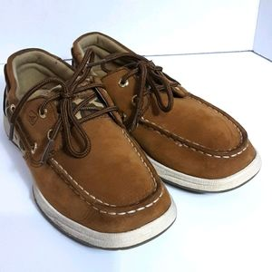❤❤SPERRY TOP SIDER LEATHER UPPER KIDS SHOES SIZE 2